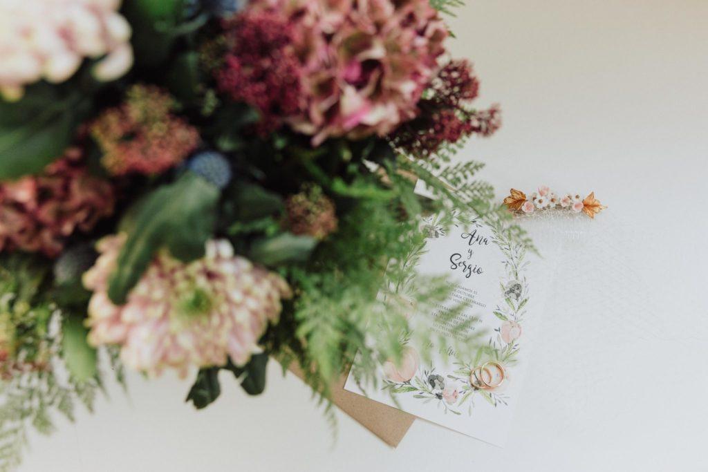 Flores de Ana y Sergio