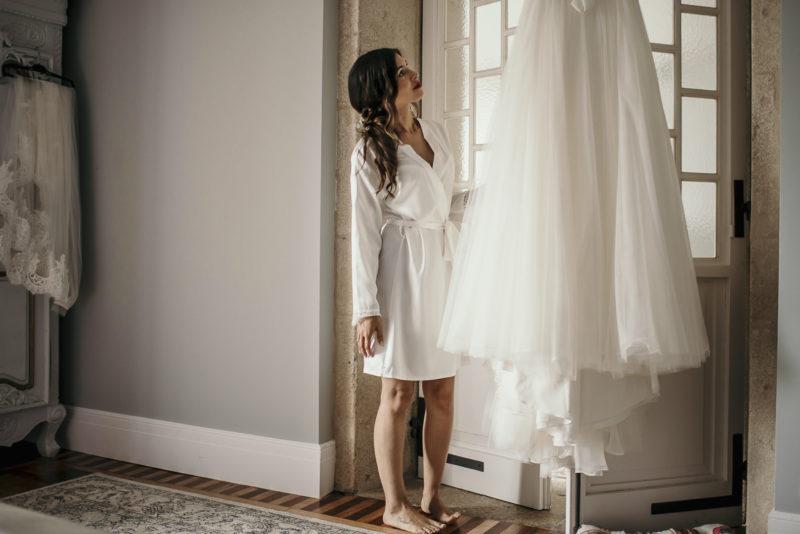 Melissa video su vestido de su boda con Jonatan