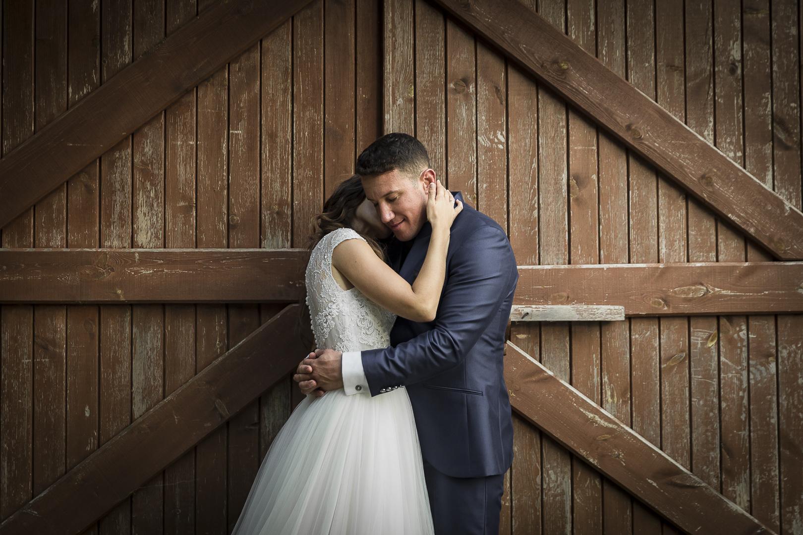 boda pazo do tambre abrazo